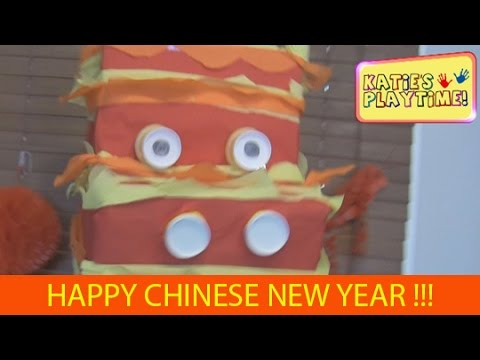 How to Make A Dragon Head for Chinese New Year !!