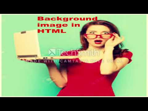 how to insert background image in html using notepad|HTML/CSS Tutorial