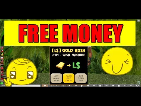 Second Life Help: FREE MONEY in second life very easy ( GOLD RUSH ) 2017 { Second Life }