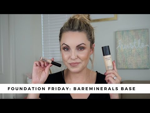 NEW Bareminerals Foundation Review|| Foundation Friday - Elle Leary Artistry