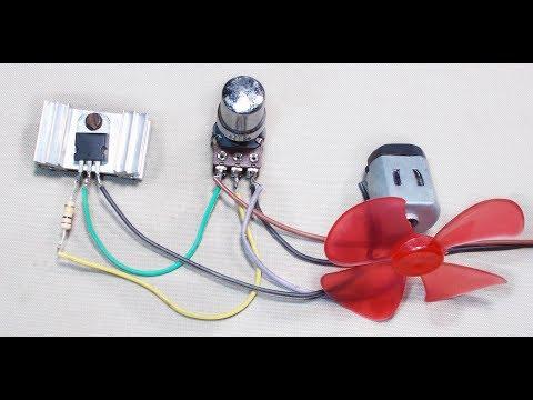 Tutorial- Simple DC Motor Speed Control Circuit   How to Make an Universal DC Motor Speed Controller