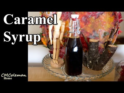 Easy Homemade Caramel Syrup Recipe