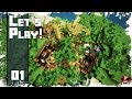 Minecraft Timelapse - SURVIVAL LET'S PLAY - Ep. 01 - Getting Started! (WORLD DOWNLOAD)