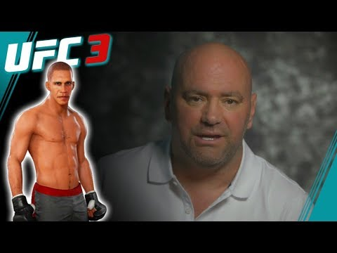 UFC 3 Career Mode Part 3 - Obama Scouted by Dana White - EA Sports UFC 3 Career Mode Gameplay