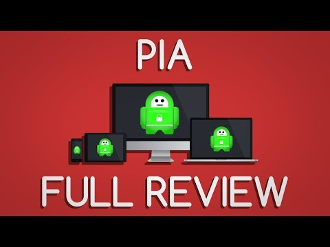 Private Internet Access FULL VPN REVIEW!