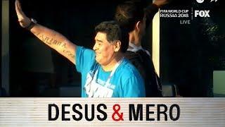 Superfan Diego Maradona