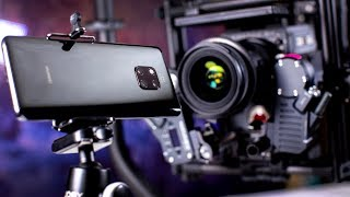 Huawei Mate 20 Pro vs RED Cinema Camera