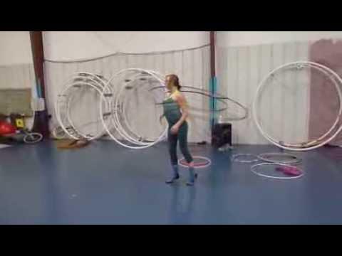 Dreamcatcher Hula Hoop in action