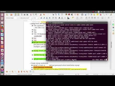 How to install apache2 web server and wordpress on ubuntu server 14.04 LTS -Part 1
