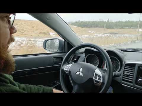 Testing the Mitsubishi Lancer with its CVT transmission