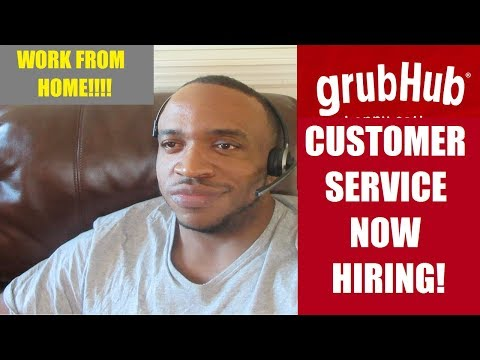 GrubHub NexRep Customer Service Jobs | Delivery Driver