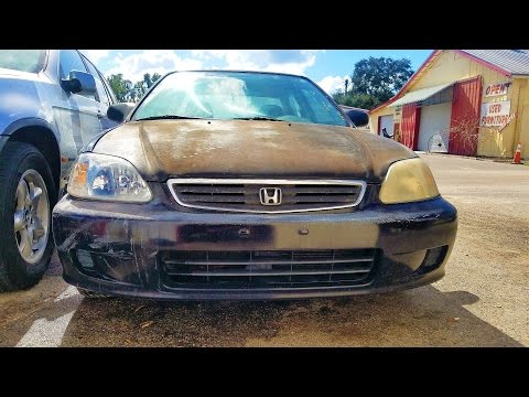 DIY How to clean and restore your cars old dull headlights.