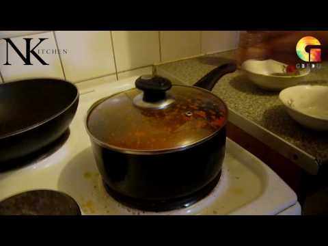 HOW TO MAKE FRIED YAM WITH STEW