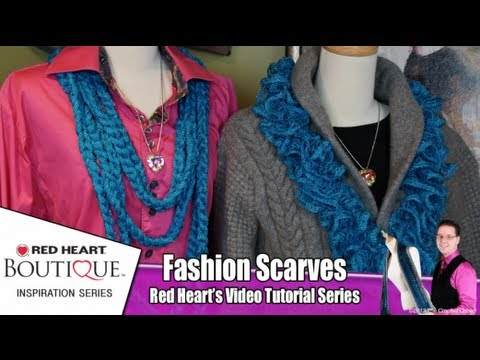 How To Wear Sashay Chain & Ruffle Scarves