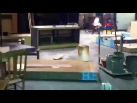 Behind the Scenes - building props for Fiddler on the Roof