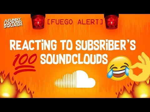 REACTING TO MY SUBSCRIBERS SOUNDCLOUDS #2