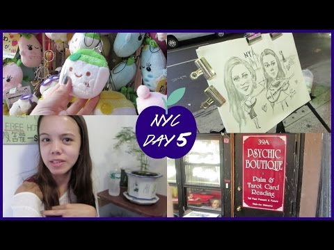 NYC DAY 5 VLOG! {Chinatown, Psychic Reading, and Juice Bars!}
