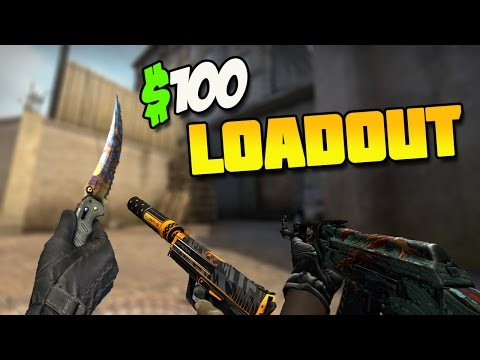 CsGo Best/Cheap 100$ Inventory including KNIFE !