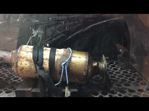 Ford transit 2.2TD fully blocked diesel particulate filter. DPF repair Hull