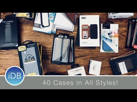 Ultimate iPhone X Case Showdown Part 3: Rugged, Slim, Folio, Star Wars, & More!