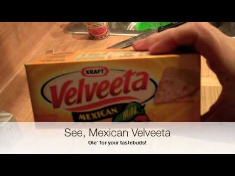 Velveeta Cheesy Spinach and Bacon Dip