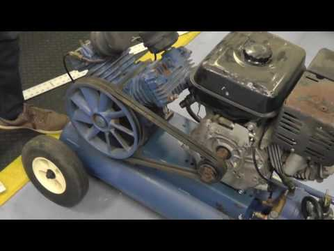 How To Check Belt Tension & Alignment On An Air Compressor