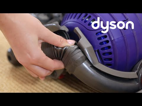 Dyson DC24 - Replacing the lower duct hose (UK)