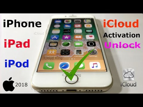 How to Unlock iCloud Activition For iPhone,iPad,iPod Feb-2018