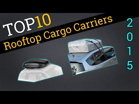 Top 10 Rooftop Cargo Carriers 2015 | Compare Rooftop Storage