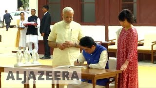India and Japan strengthen ties to fend off China
