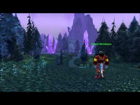 Azuremyst Isle 2014 - Walking trough - World of Warcraft