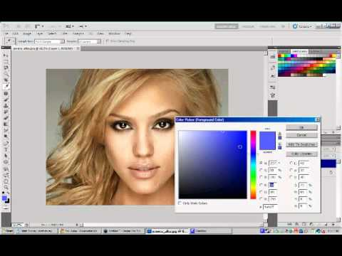 Photoshop CS5: Changing Hair Color