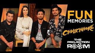 Chhichhore Cast Shares Fun Memories In The Projection Room | ShowBox