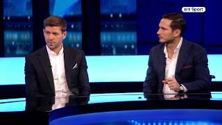 Steven Gerrard and Frank Lampard preview Liverpool v Chelsea Premier League clash live on BT Sport