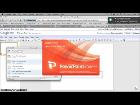 How To Upload PowerPoint Presentation From Google Docs to Moodle.mp4