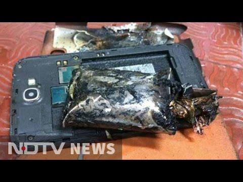 Samsung Galaxy Note 2 Phone Catches Fire On IndiGo's Singapore-Chennai Flight