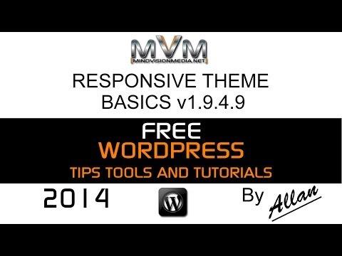 WordPress Responsive Theme Basics 2014