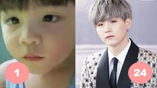 Download Suga BTS Childhood | From 1 To 24 Years Old Video