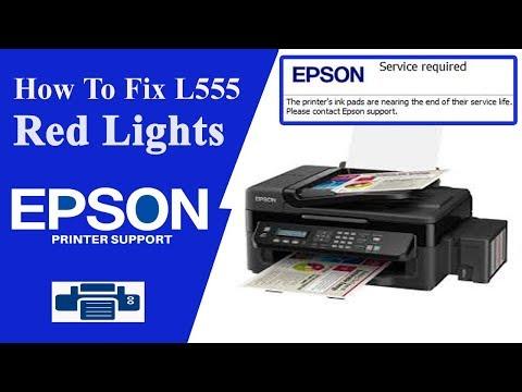 Epson L555 Resetter - l100- l300