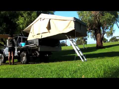 IRONMAN ROOFTOP TENT & AWNING SET UP