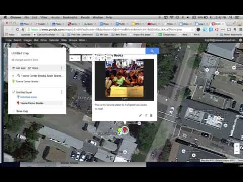 How to Add Your Own Images to A Google Map