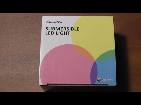Submersible LED Lights by Idealife REVIEW