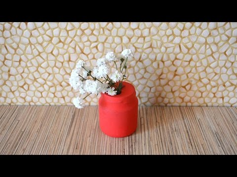 How To Make A Vase From A Balloon - DIY Home Tutorial - Guidecentral