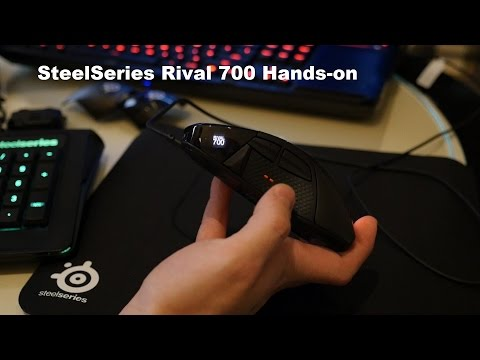 SteelSeries Rival 700 Hands-on