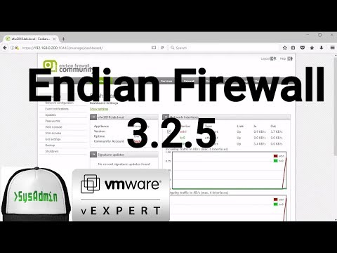 How to Install and Configure Endian Firewall 3.2.5 + Review on VMware Workstation [2018]