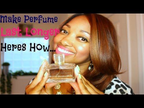 Tips To Make Perfume Last Longer...