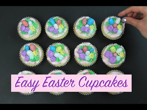 Easy Easter Cupcakes | CHELSWEETS