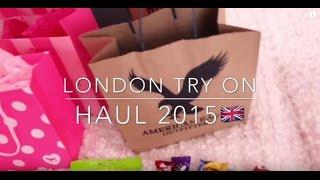 LONDON TRY ON HAUL🇬🇧