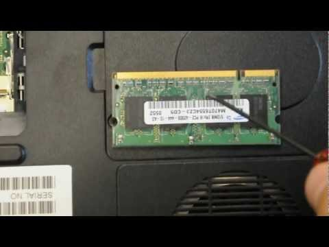 Upgrade RAM Memory at Home. Toshiba Laptop M65