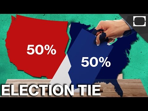 What Happens If A Presidential Election Ends In A Tie?